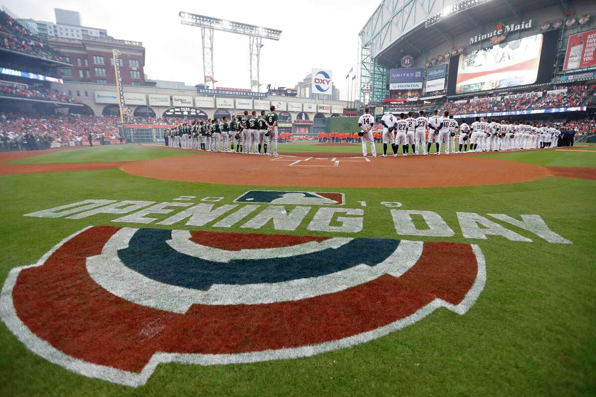 Opening day for the Astros in 2020 -expected in late July - will have a different feel than last season.
