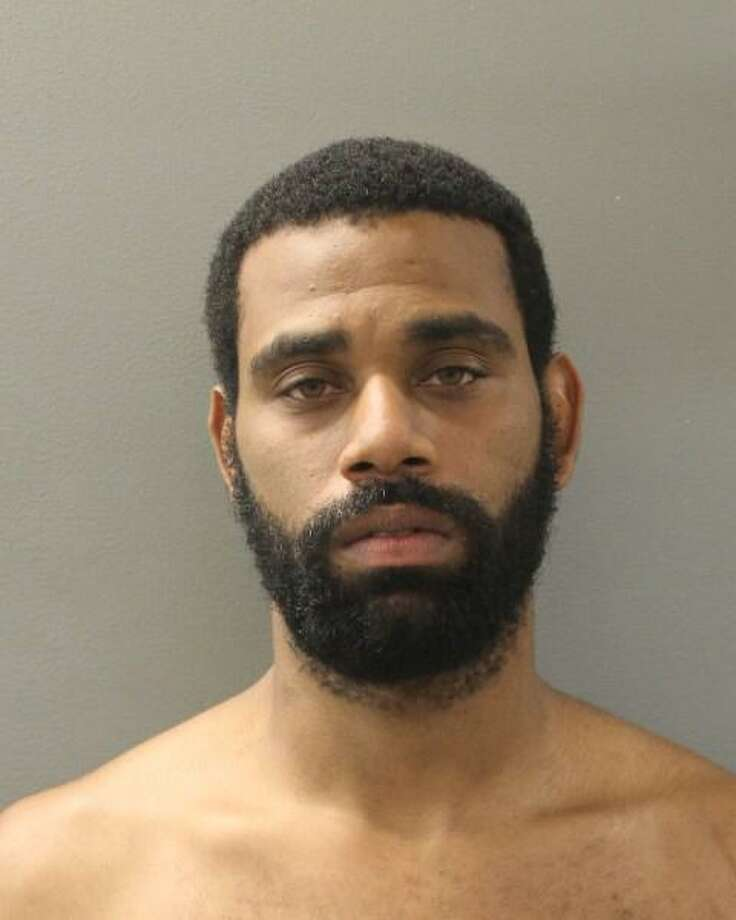 Tywan Shuford, 30, of Rock Creek Road in New Haven, Conn., was charged with second-degree stalking, possession of a firearm by a convicted felon, theft of a firearm and weapon in a motor vehicle. Photo: Contributed Photo / Hamden Police Department