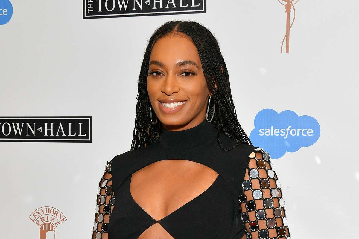 2020: Solange Knowles attends The Lena Horne Prize for Artists Creating Social Impact inaugural celebration at The Town Hall in New York City.