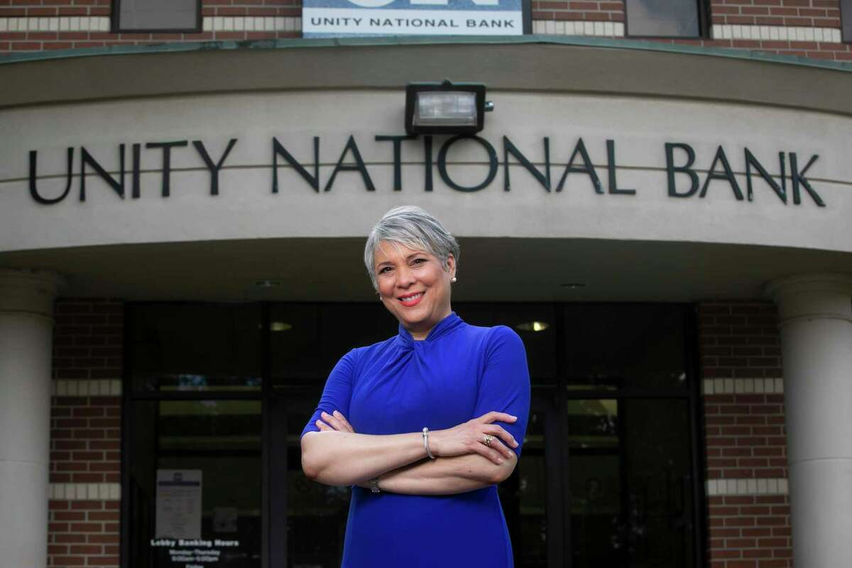 Laurie Vignaud started in December as CEO at Unity National Bank, which hasn't made a profit in three years.