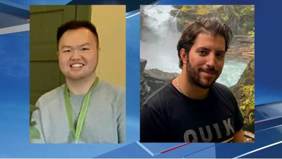 Vincent Djie (left) and Talal Sabbagh (right) are both missing atop Mt. Rainier. Photo: Mt. Rainier National Park