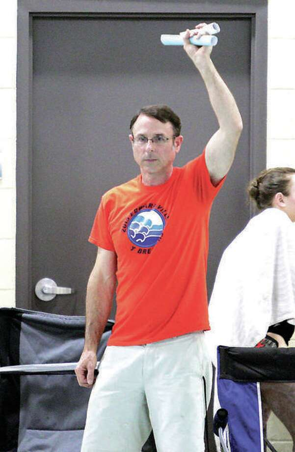 Former Edwardsville YMCA Breakers swim coach Bob Rettle, who is also the Edwardsville School District's director of swimming. He has stepped down as coach of the Breakers. Photo: Pete Hayes | Hearst Illinois
