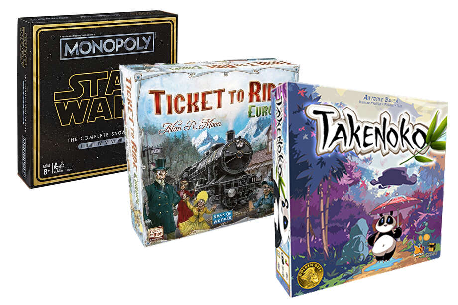 Photo: Parker Bros, Takenoko, Days Of Wonder