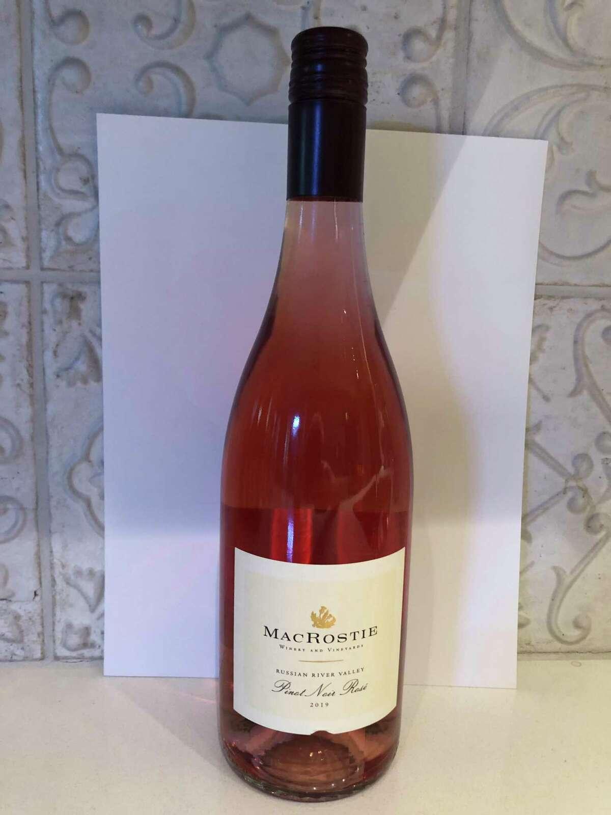 2019 MacRostie Russian River Valley Pinot Noir Rosé