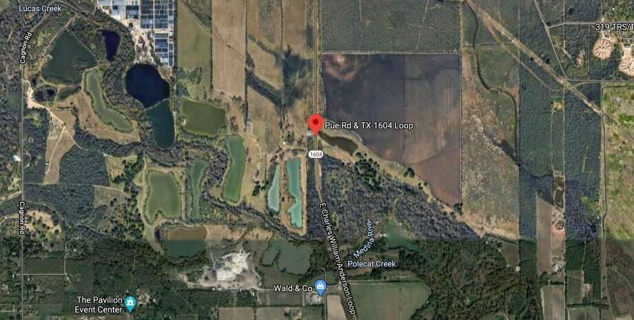 One person is dead after a head-on collision on the far West Side early Wednesday morning. The map shows the approximate location of the accident. Photo: Google Maps