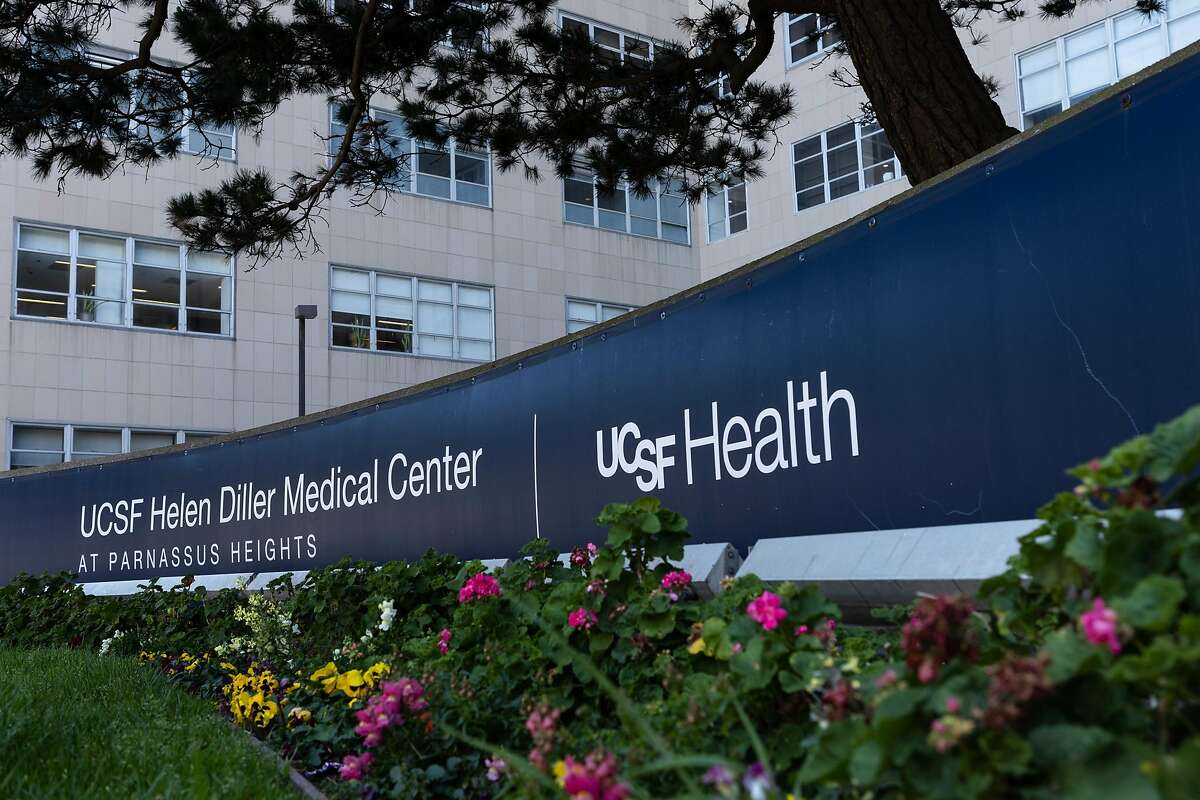 The UCSF Helen Diller Medical Center is among several sites across the state for Wednesday's protests of UC layoffs of campus service workers.
