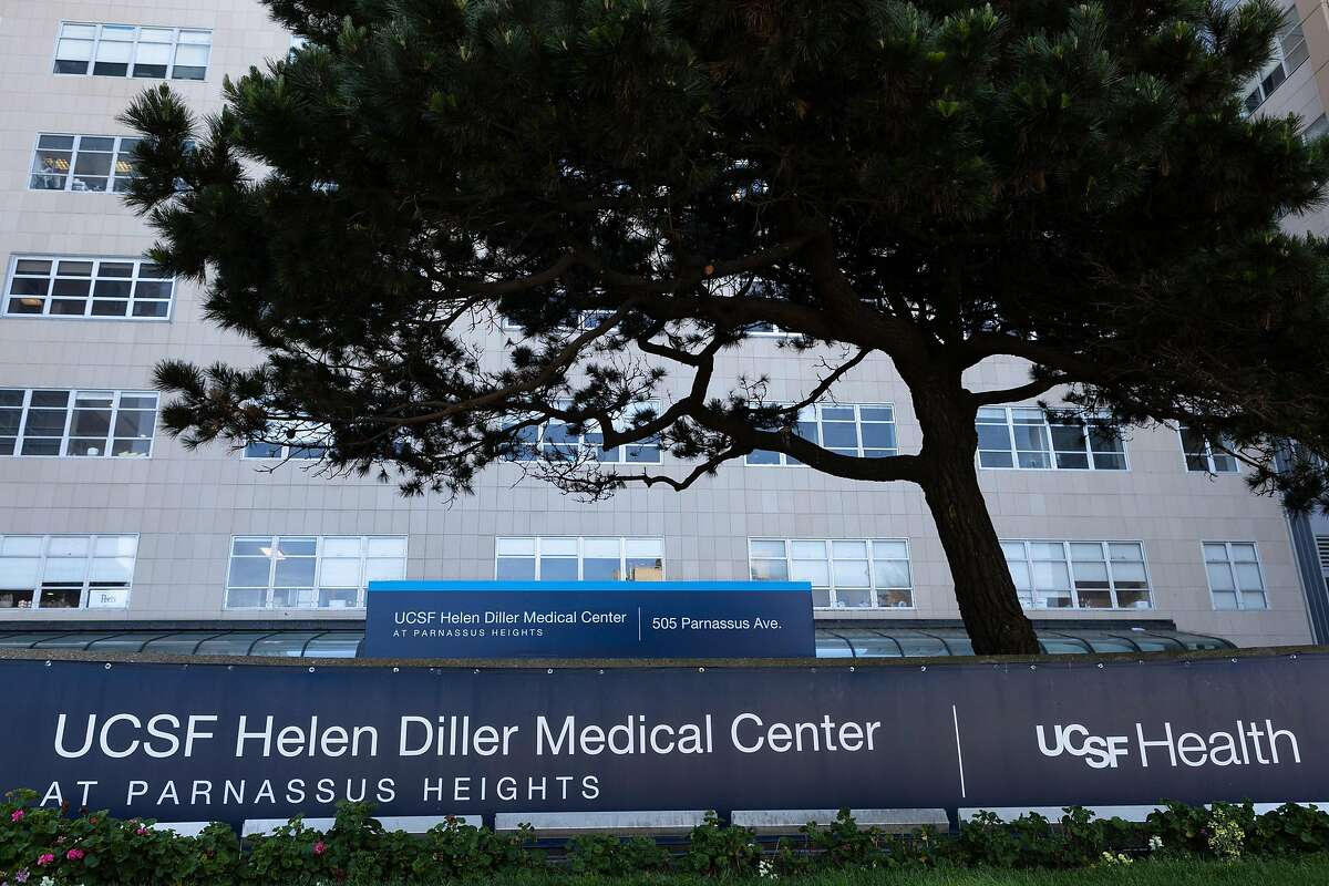 The UCSF Helen Diller Medical Center at Parnassus Heights on Wednesday, April 22, 2020, in San Francisco, Calif.