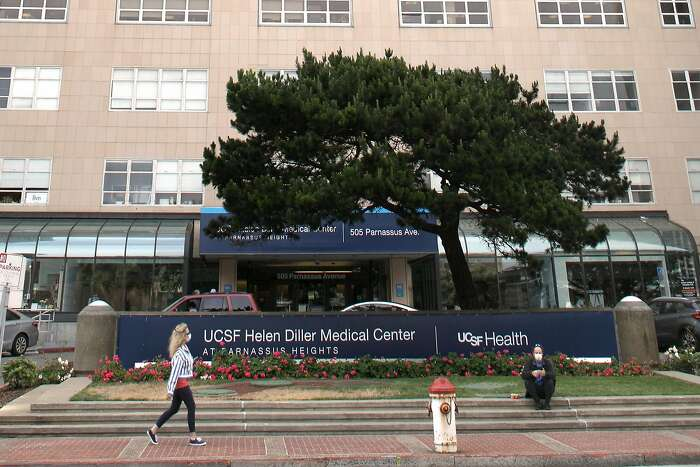 Main hospital seen at the UCSF Parnassus campus on Thursday, June 11, 2020, in San Francisco, Calif.