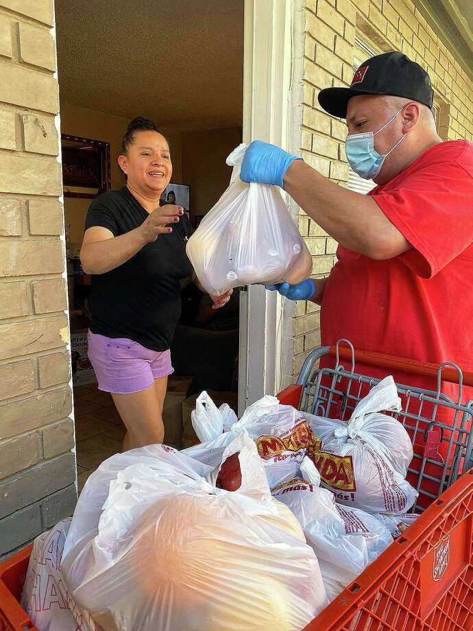 Salvation Army East Harris County volunteers deliver Meals on Wheels and groceries to seniors in the area. In May, they delivered over 2,500 meals. Photo: Submitted
