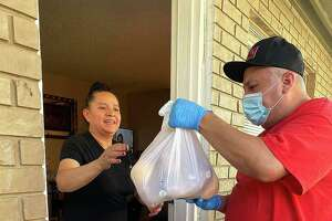 Salvation Army East Harris County volunteers deliver Meals on Wheels and groceries to seniors in the area. In May, they delivered over 2,500 meals.