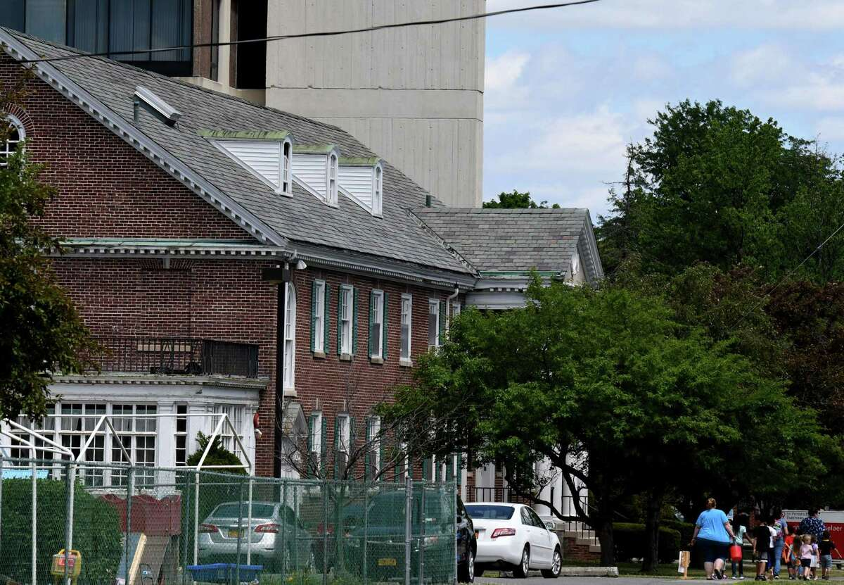 Exterior of the Samaritan-Rensselaer Children's Center on Wednesday, June 24, 2020, in Troy, N.Y. The daycare center announced that they will close on September 3 due to financial restraints caused by COVID-19. (Will Waldron/Times Union)