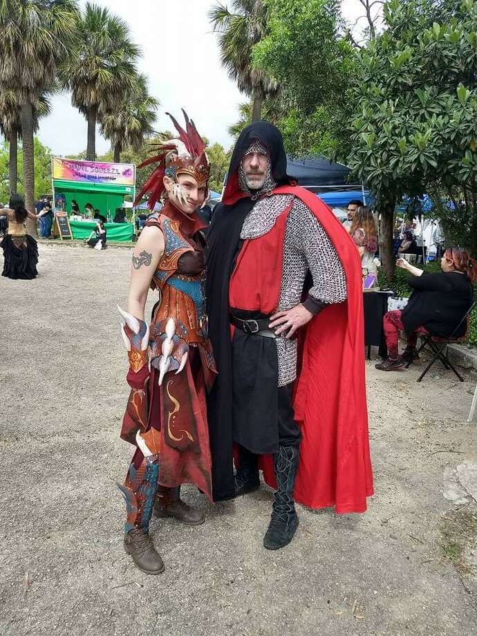 A two-day renaissance festival will go on as planned this weekend with social distancing measures as the San Antonio area experiences a surge in coronavirus cases. Photo: Masked Renaissance Festival