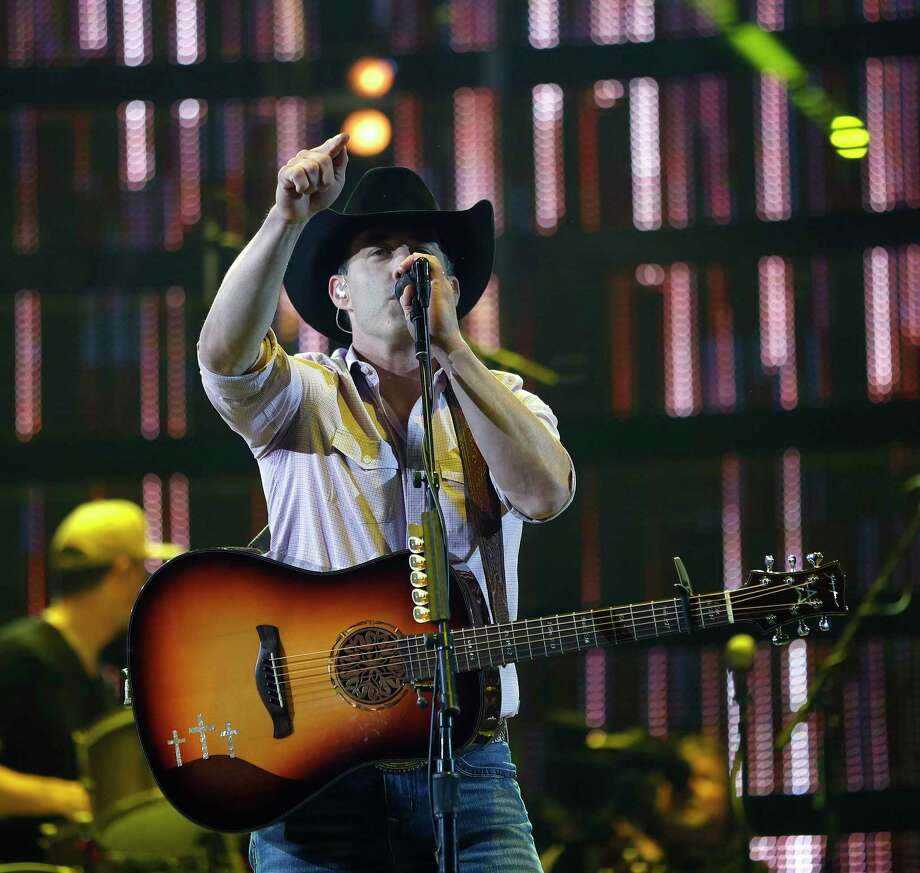 Aaron Watson performs in concert at the Houston Livestock Show and Rodeo, at NRG Park, March 7, 2017, in Houston. Watson will headline the Conroe Cajun Catfish Festival on Oct. 10 in downtown Conroe. Photo: Karen Warren, Staff Photographer / Houston Chronicle / 2017 Houston Chronicle