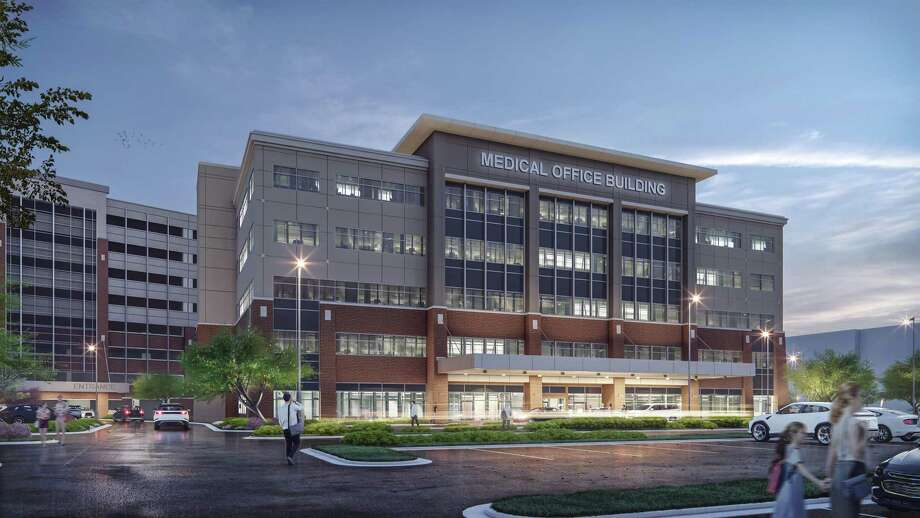 Healthpeak Properties is developing a five-story, 116,500-square-foot medical office building at 7500 Fannin St. Photo: Transwestern Real Estate Services