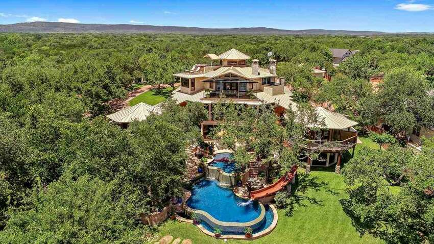 This Kingsland, Texas, home could be a luxury resort.