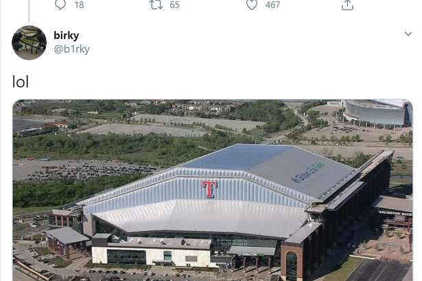 This Twitter user got the ball rolling with the exterior view of the ballpark. Then, everyone else took over from there.