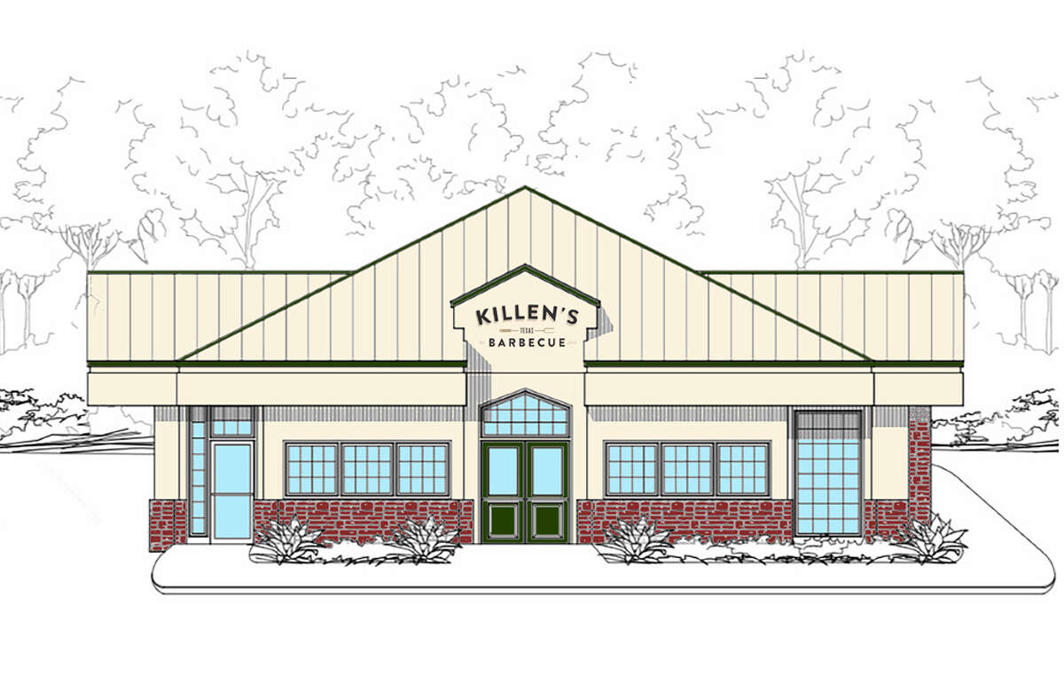 Killen's Texas Barbecue will open in the former Culver's restaurant building at 8800 Six Pines Drive near The Woodlands.