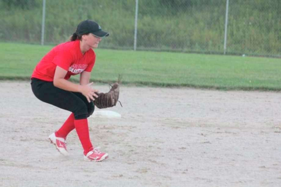 Josie Prince of Big Rapids signed a letter of intent to play softball at Ferris State in November. (Pioneer file photo)