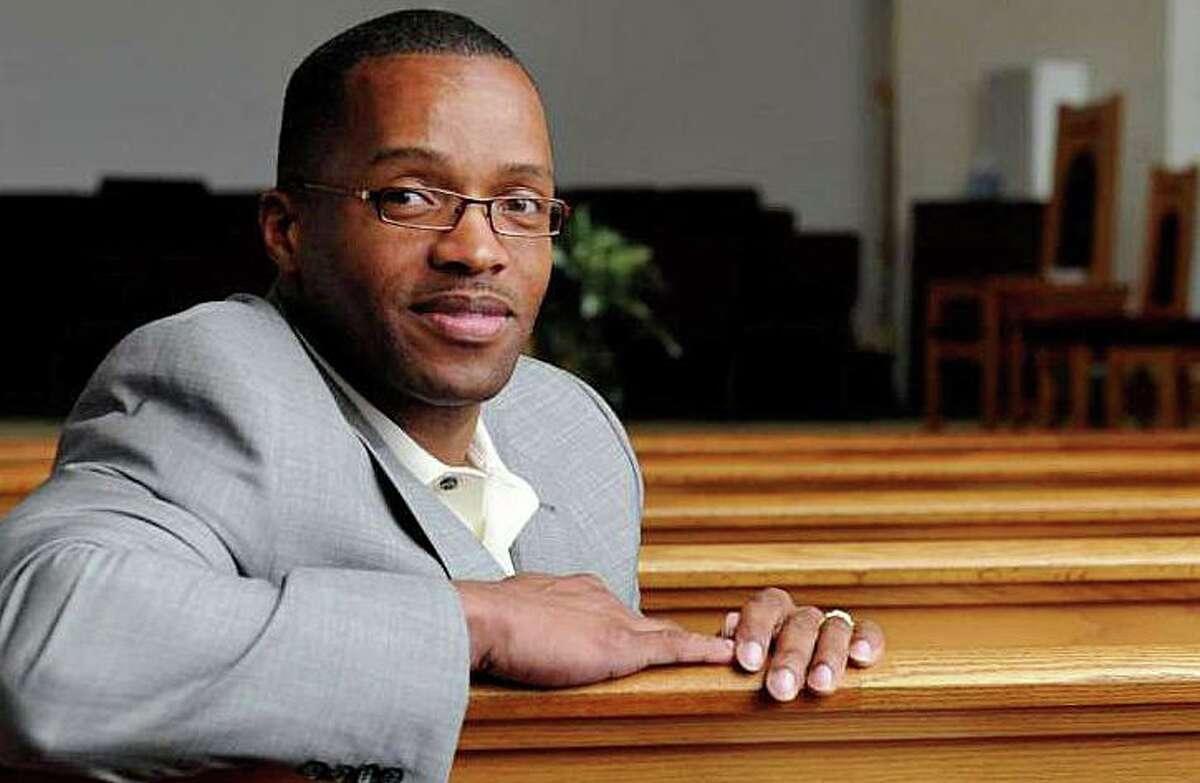 The Rev. Leroy Parker, pastor of New Hope Baptist Church