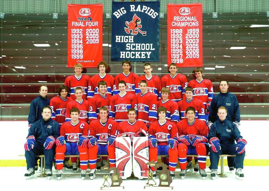 The 2009 Big Rapids hockey team was the Division III runner-up. (Courtesy photo)