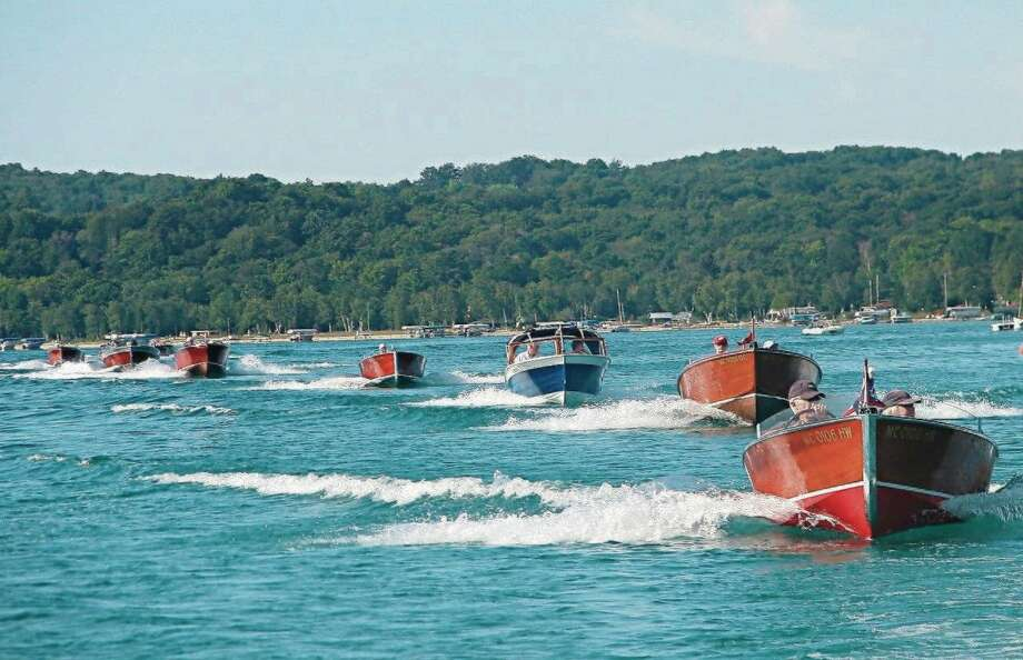 Classic Boats of Crystal Lake will be hosting a boat parade on Crystal Lake for the Fourth of July Holiday, and is inviting the public to participate. (Courtesy photo)