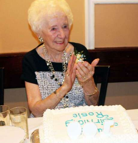 Rose Vanacore Ramadei, of Orange, celebrated her 100th birthday Aug. 14, 2016 at Brazi's Italian Restaurant in New Haven. Rose Vanacore Ramadei died in Wallingford on May 21 at age 103. Photo: Contributed Photo /