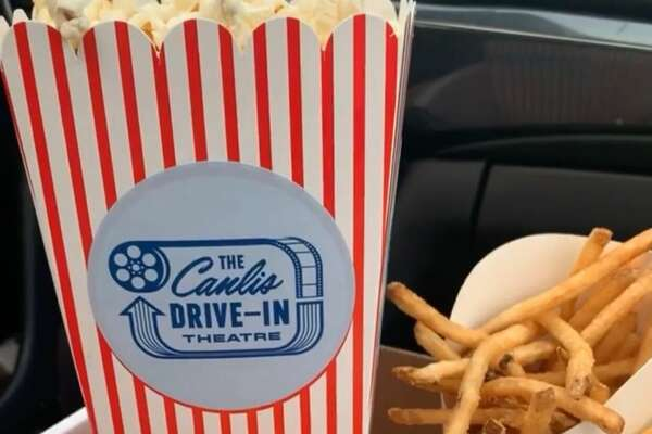 Canlis drive-in theater