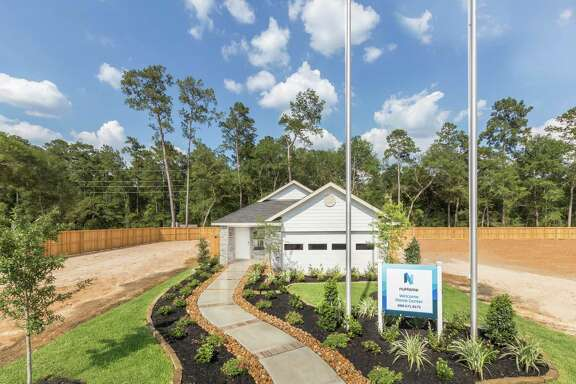 A fully furnished Arbor Trace model home, part of the nuHome Colonial Collection, is now open daily at 33540 Orange Maple Way in Pinehurst.
