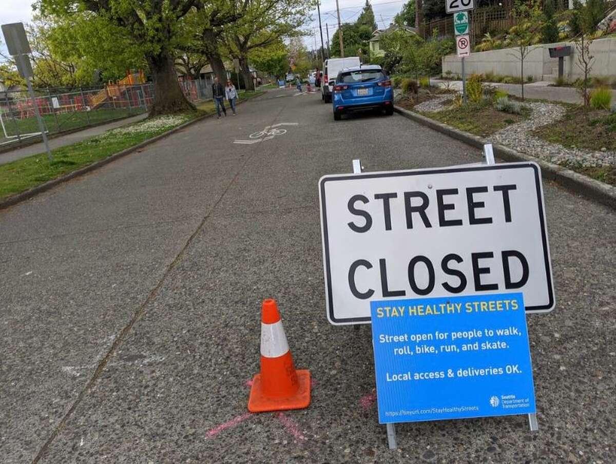 Stay Healthy Street in Seattle, Wash.