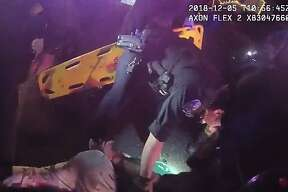 Body camera footage obtained by The Chronicle shows the violent arrest of Shelby Gattenby on Dec. 5, 2018, by Alameda police. The footage shows him being pinned to the ground and tased multiple times. Gattenby died in a hospital on Dec. 13, 2018, eight days after he went into cardiac arrest while being transported to the hospital.
