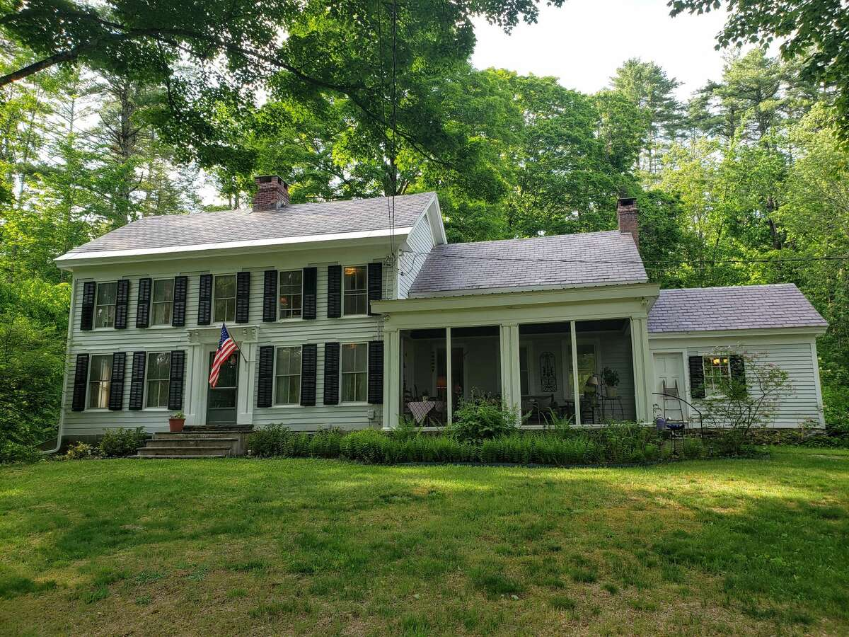 Mid-19th century farmhouse in Queensbury on 40 acres. Four bedrooms, two bathrooms. Listing here. Listing agent: Michael Weinfeld of Equitas Realty, 305-815-8099