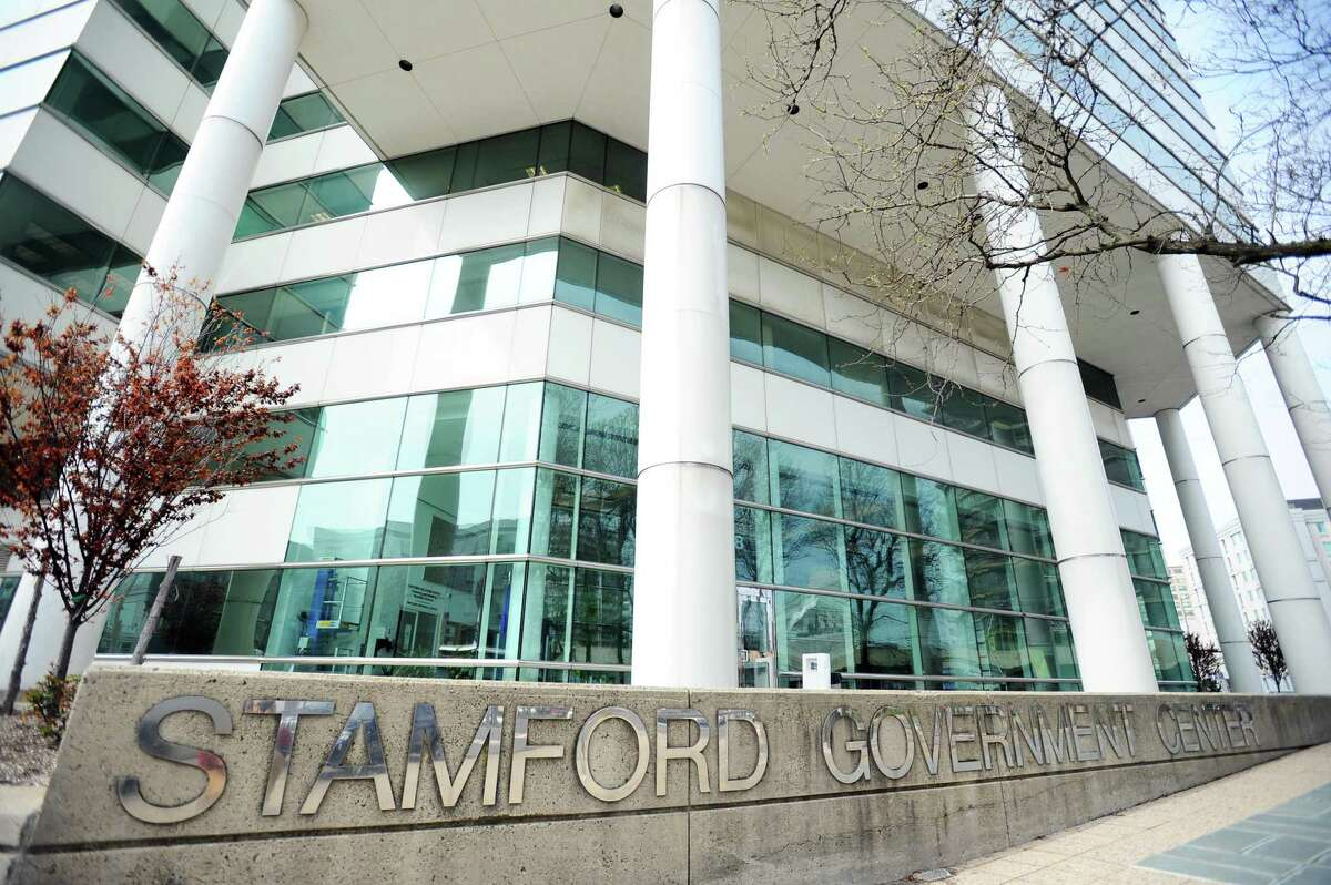 Stamford Government Center in downtown Stamford, Conn. on Thursday, April 20, 2017.