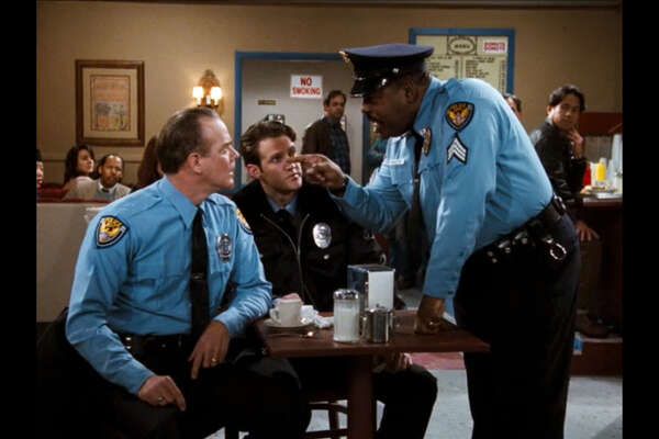 "The ABC sitcom ""Family Matters"" addressed issues of racial profiling police in the episode ""Good Cop, Bad Cop."""