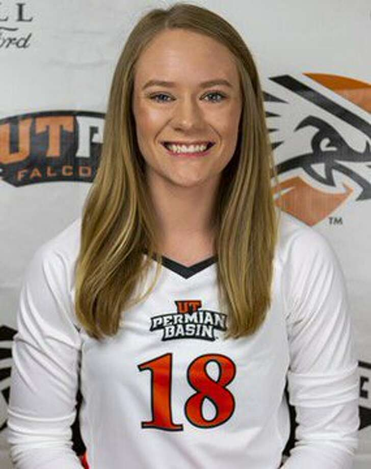 Midland Christian grad and UT-Permian Basin defensive specialist Megan Ashton Photo: UTPB Athletics