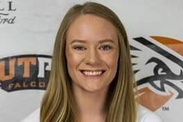 Midland Christian grad and UT-Permian Basin defensive specialist Megan Ashton