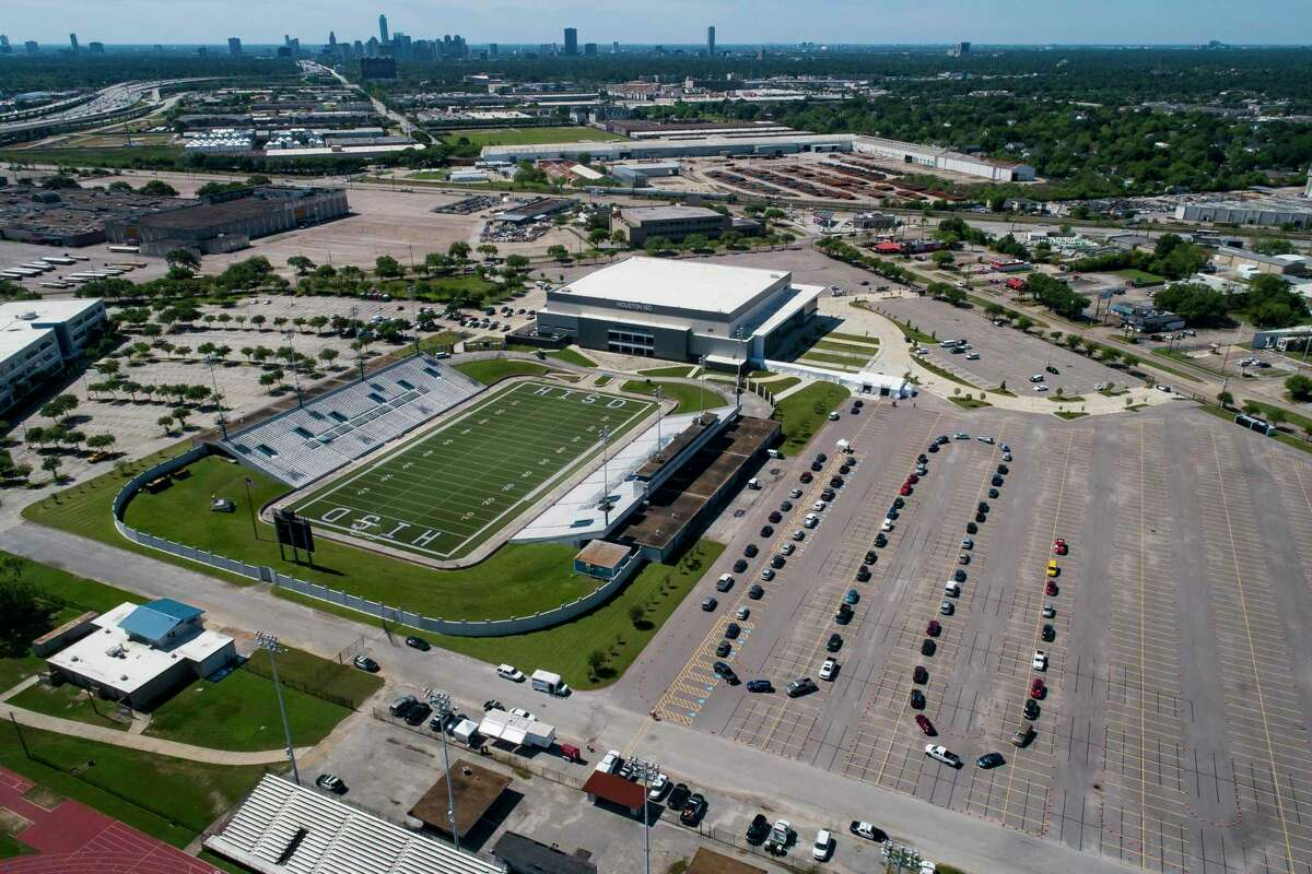 Houston's COVID-19 testing site at Delmar Stadium, which gives up to 500 tests a day, is set to soon lose federal support.