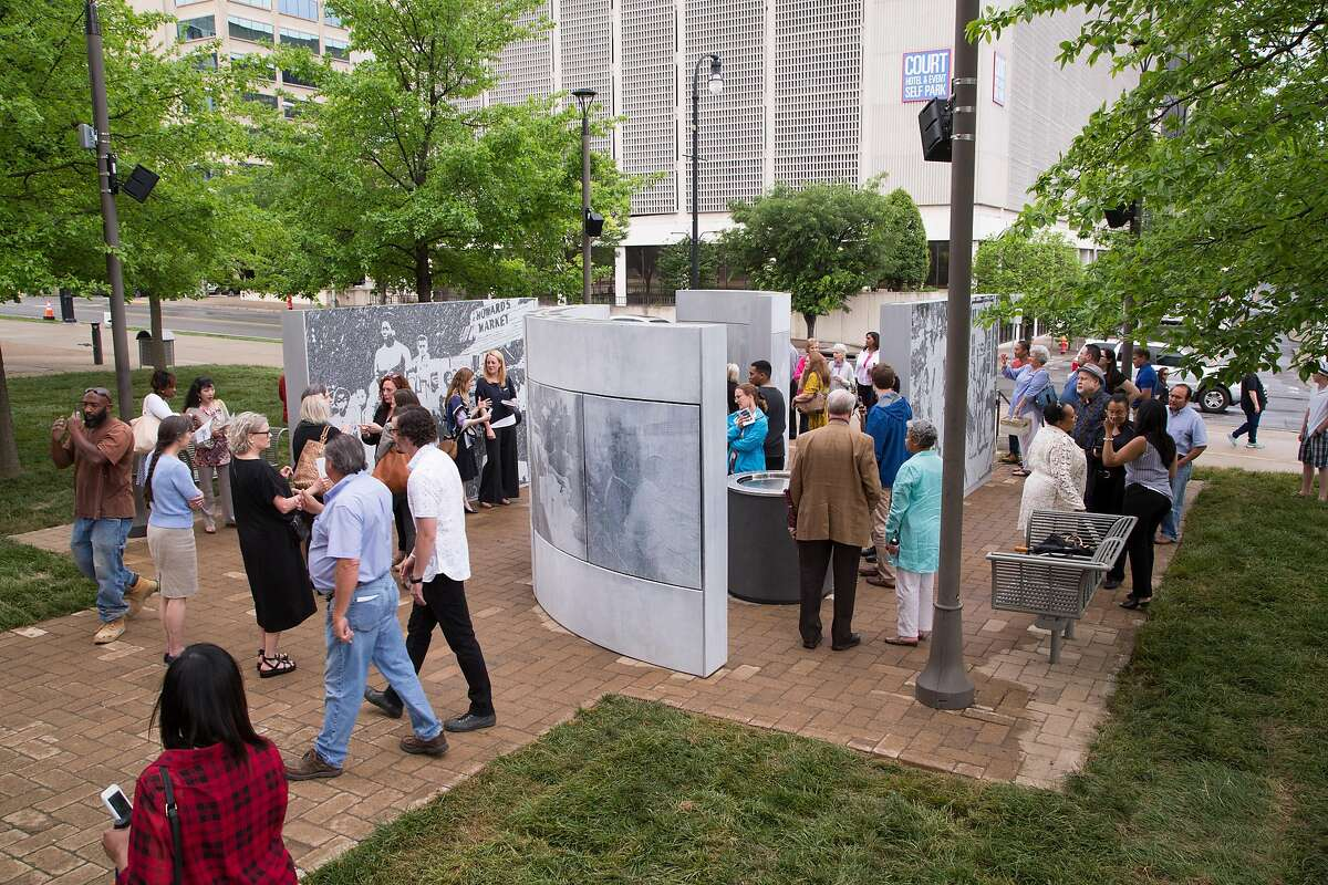 The Witness Walls, a memorial in Nashville, Tenn., to that city's role in the Civil Rights movement, debuted in 2017. The design is by Oakland landscape architect Walter Hood.