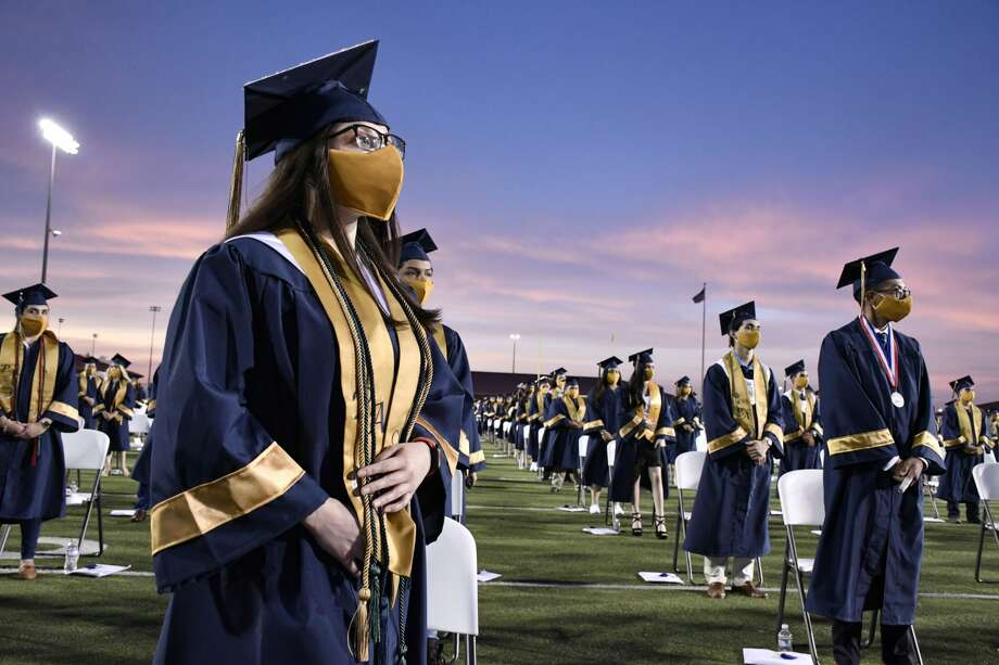 United ISD hosted the graduation ceremonies for the Alexander High School Class of 2020, Wednesday, June 24, 2020 at the United ISD SAC. Photo: Cuate Santos