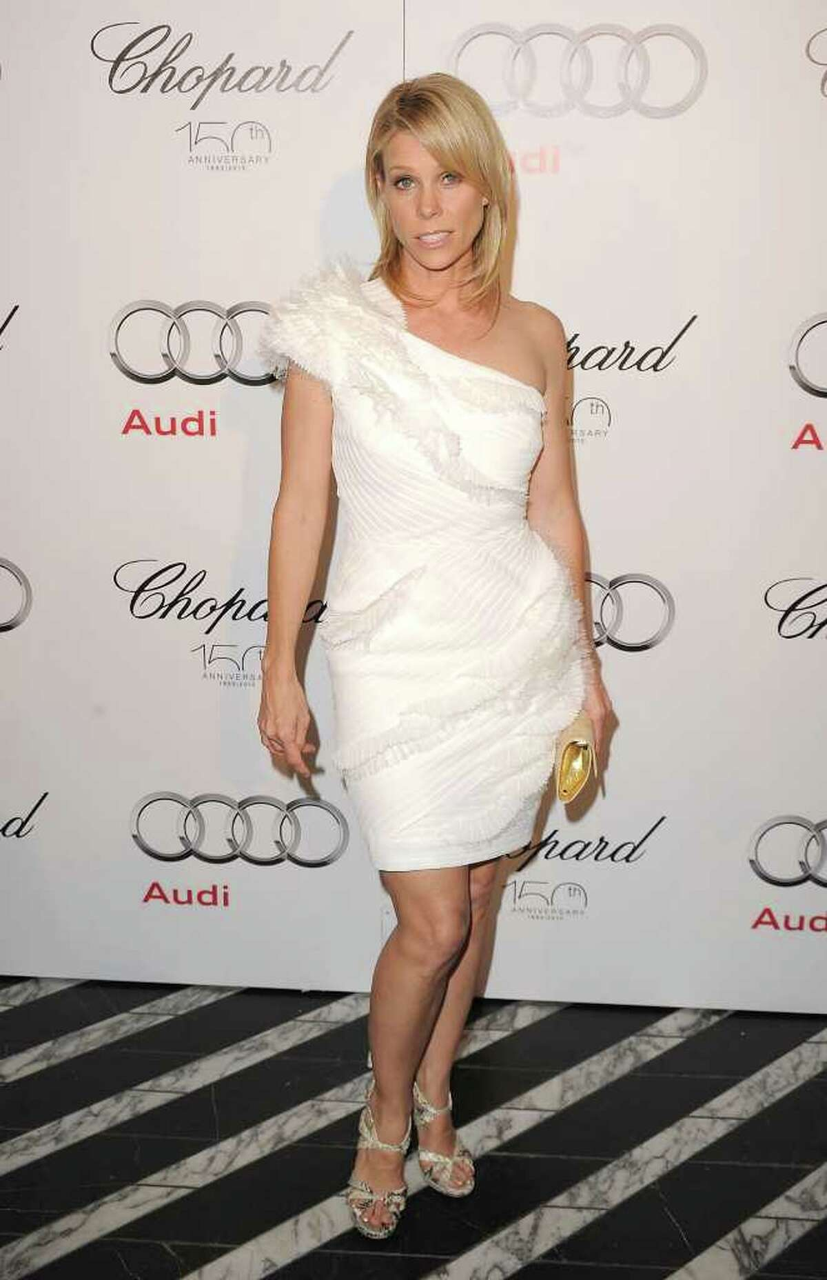 WEST HOLLYWOOD, CA - AUGUST 22: Cheryl Hines arrives at the Audi/Chopard EMMY week red carpet style kick-off party held at Cecconi's Restaurant on August 22, 2010 in Los Angeles, California. (Photo by Jason Merritt/Getty Images) *** Local Caption *** Cheryl Hines