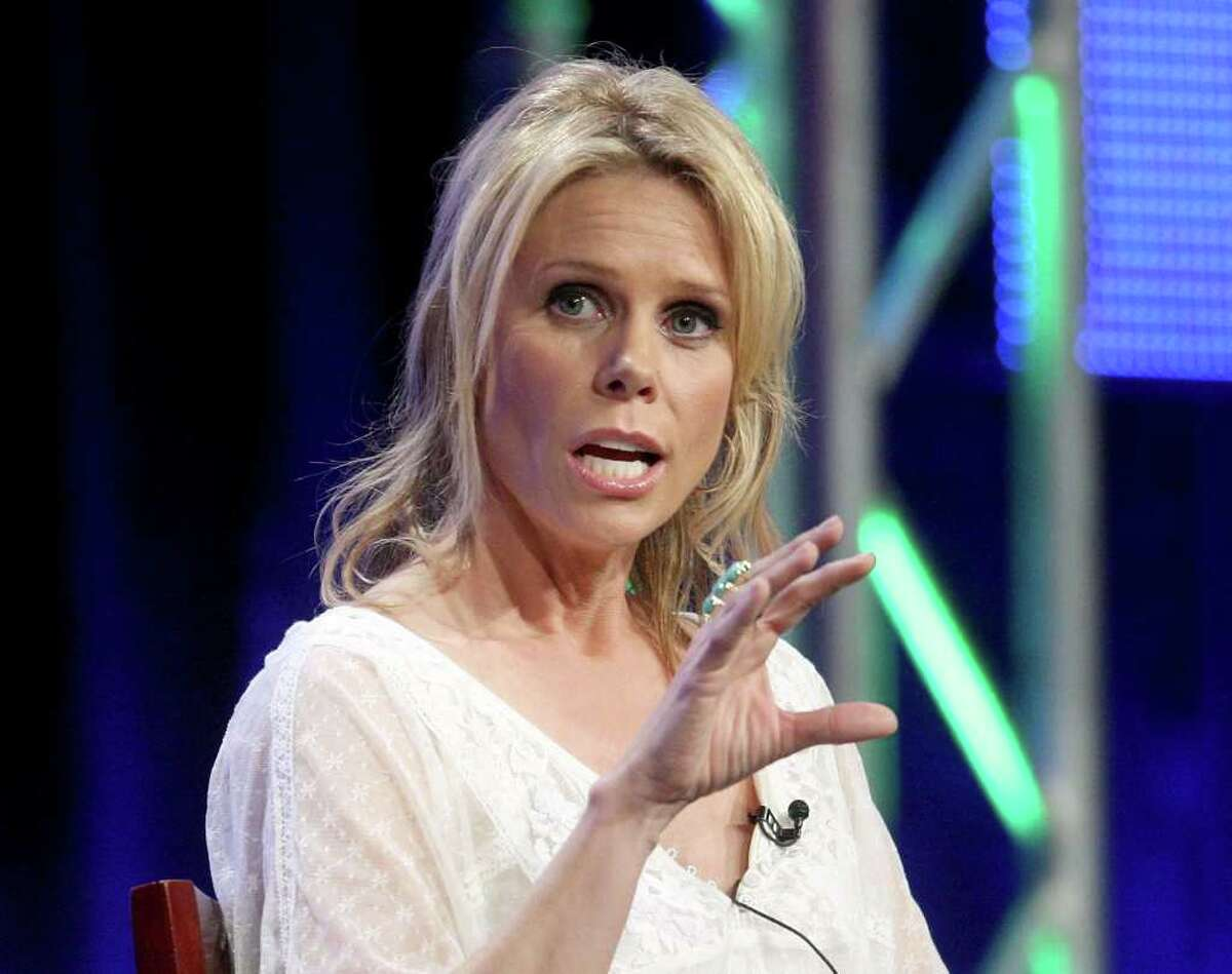 BEVERLY HILLS, CA - JULY 30: Actress Cheryl Hines speaks onstage during the