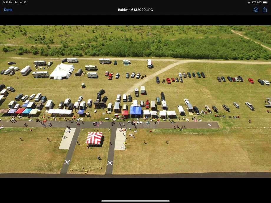 The Lake County Modelers and Flyers Radio Controlled (RC) Club had its three-day eventJune11-13at Baldwin Airport..It was a record spectator turnout in the event's seven-year history. (Courtesy photo)