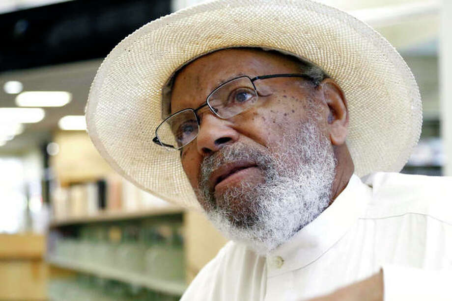 Civil rights activist James Meredith, 85, speaks in 2018. Today's protests across America against racial injustice are being watched closely by people who five decades ago faced jail cells, bloody assaults, snarling dogs and even potential assassination in the battle against institutional racism. Photo: Rogelio V. Solis | AP