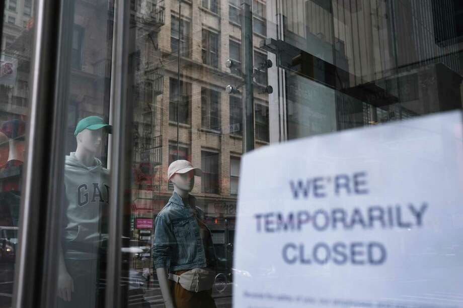 Connecticut businesses will be responsible for the large amount of money the state will have to borrow to cover the surge of unemployment claims. Photo: Spencer Platt / Getty Images / 2020 Getty Images