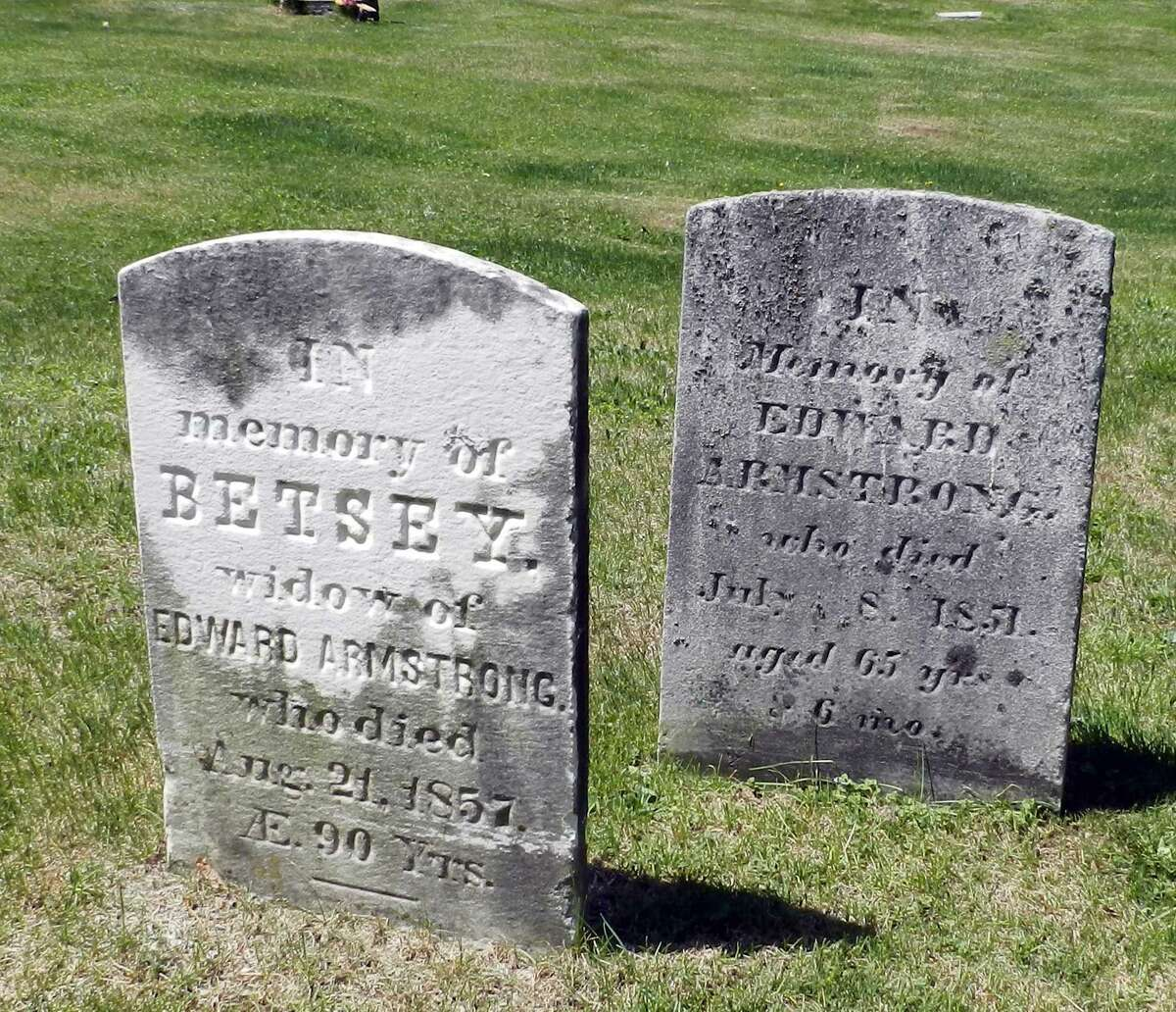 Ridgebury Cemetery is home to the side by side graves of Uncle Ned and Aunt Betsey Armstrong, whose work on the Underground Railroad helped escaped slaves find freedom before the Civil War.