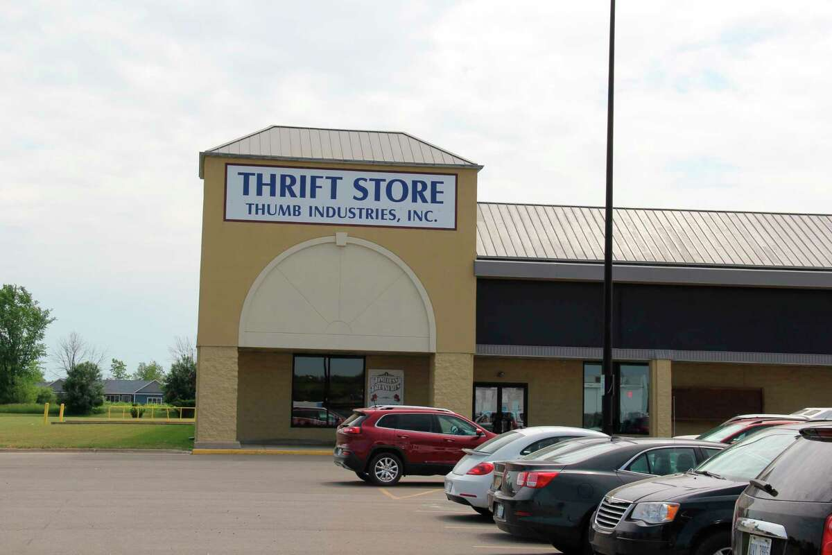 The Thumb Industries Thrift Store in Bad Axe. (Robert Creenan/Huron Daily Tribune)