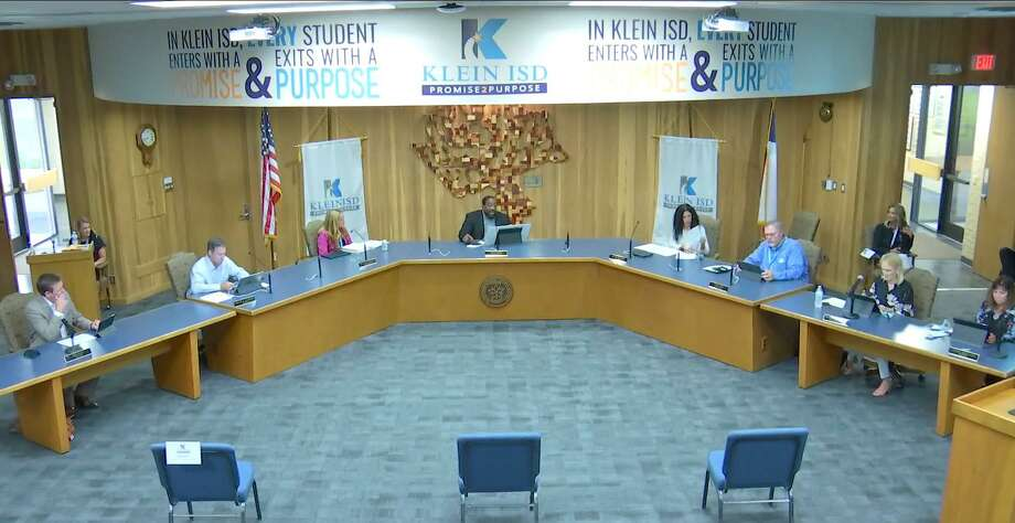 The Klein ISD school board approved the district's 2020-2021 budget during a June 22 meeting. Photo: Courtesy Of Klein ISD