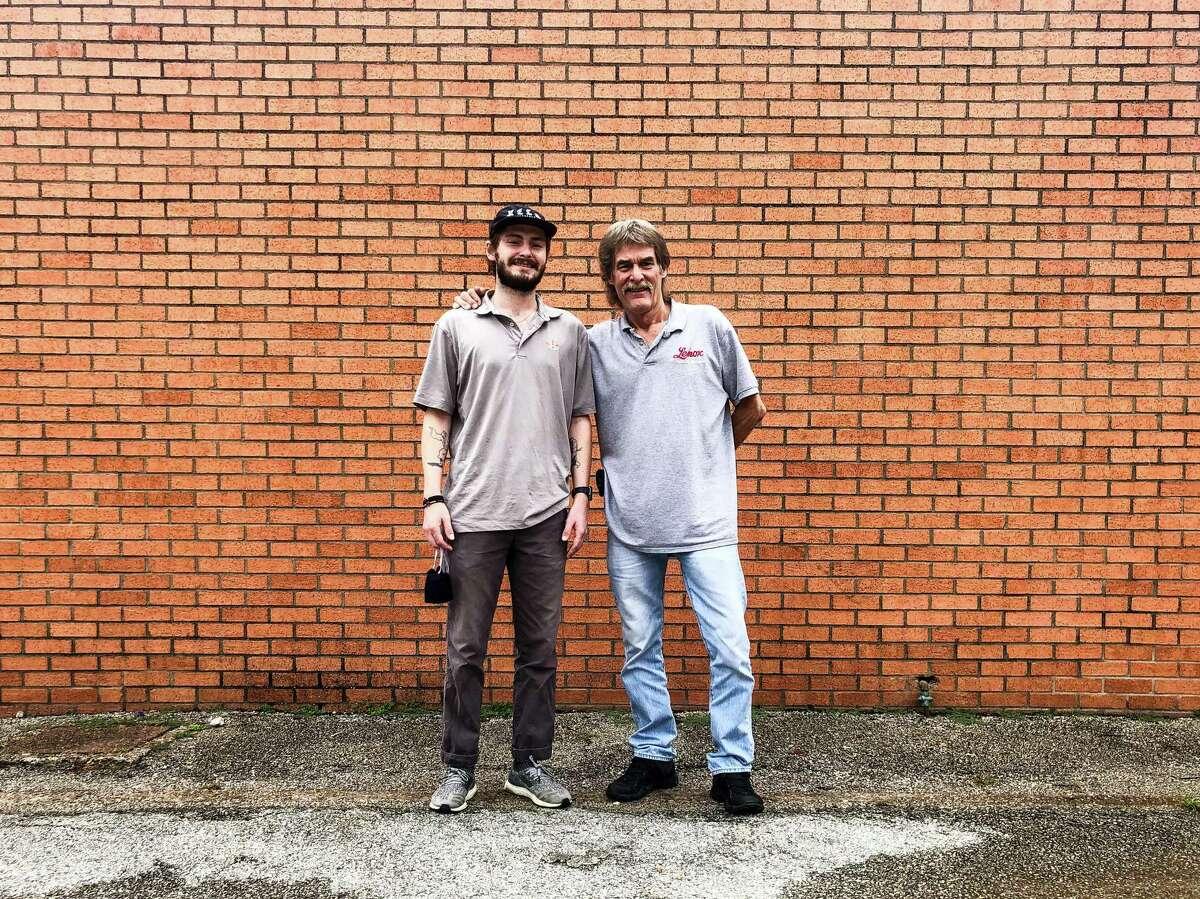 Reece Mrok, left, and Erik Mrok at Lenox Bar-B-Q