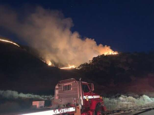 The cause of the fire is under investigation. Visit Cal Fire's incidents page for updates on the Diablo Fire. Amy Graff is a digital editor at SFGATE. Email her: agraff@sfgate.com. Photo: CalFire