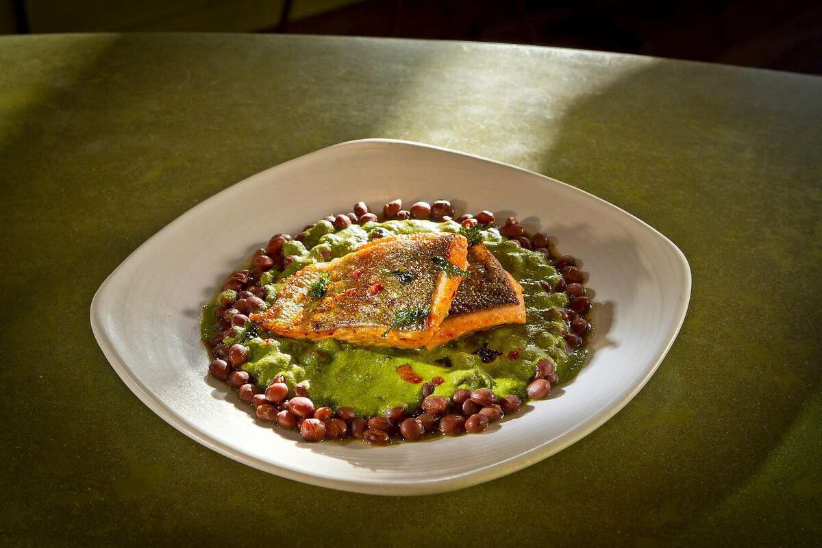The seared Trout at Nopalito in San Francisco, Calif., is seen on Saturday, October 27th, 2012.