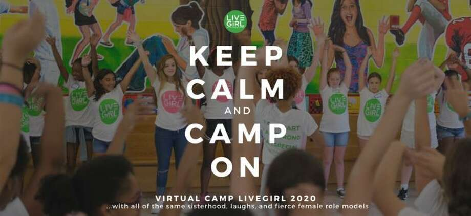 Throughout July, LiveGirl is offering free-of-charge virtual Confidence Clubs and camps with scholarships and a free laptop loan option. Photo: LiveGirl